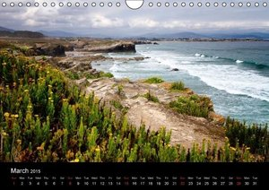 Beaches of Galicia (Wall Calendar 2015 DIN A4 Landscape)