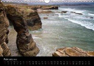Beaches of Galicia (Wall Calendar 2015 DIN A4 Landscape)