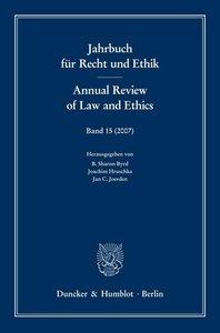 Jahrbuch für Recht und Ethik / Annual Review of Law and Ethics 1
