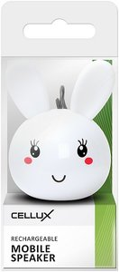 CELLUX Rechargeable Mobile Speaker, Rabbit