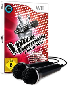 The Voice of Germany - I want you - inklusive 2 Mikros (Wii U k