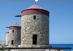 Rhodes - Greece (Wall Calendar 2015 DIN A3 Landscape)