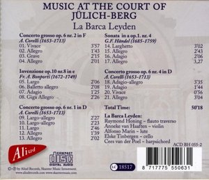 Music at the court of Julich-Berg