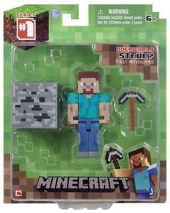 Minecraft 16509 - Steve, Spielfigur mit Zubehör
