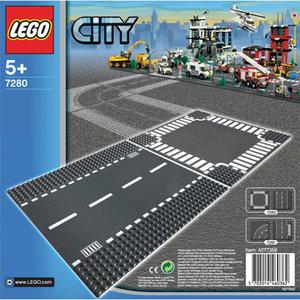 LEGO® City 7280 - Gerade Straße und Kreuzung