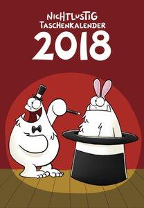 Nichtlustig Taschenkalender 2018