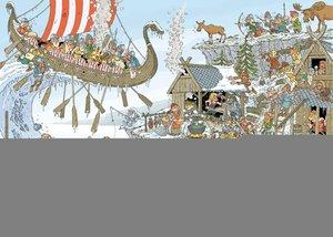 Jumbo 19201 - Rob Derks Pieces of Hostory - Die Wikinger - 1000