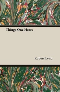 Things One Hears