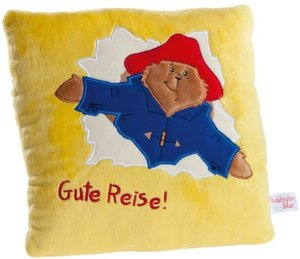 Heunec 607972 - Paddington Bear, Kissen, 25x25cm