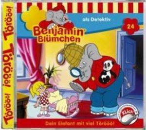 Benjamin Blümchen 024 als Detektiv