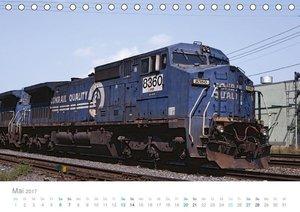 US Diesellokomotiven (Tischkalender 2017 DIN A5 quer)