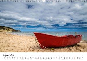 Strandsichten (Wandkalender 2016 DIN A3 quer)