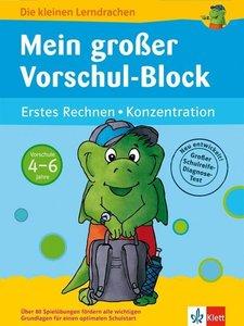 Mein großer Vorschul-Block (Vorschule 4-6 Jahre)