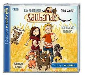 Die sagenhafte Saubande 01 - Kommando Känguru (2 CD)