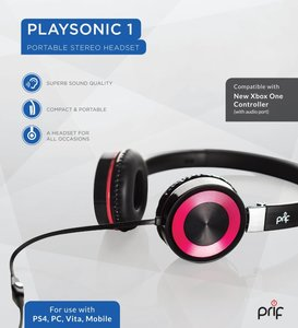 Headset PRIF Playsonic 1 Portable Stereo