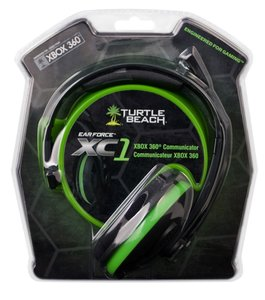 TurtleBeach Multi Headset EarForce XC1 für XBOX360/PC, schwarz