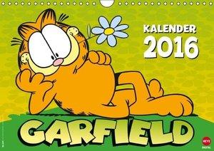 Garfield Posterkalender (Wandkalender 2016 DIN A4 quer)