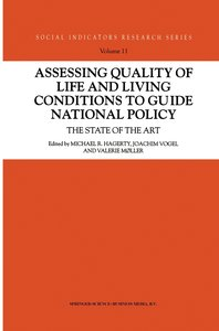 Assessing Quality of Life and Living Conditions to Guide Nationa