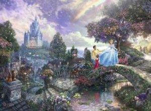 Kinkade: Cinderella. Puzzle 500 Teile