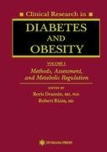 Clinical Research in Diabetes and Obesity, Volume 1