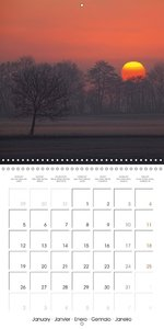 Dawn & Dusk (Wall Calendar 2015 300 × 300 mm Square)