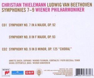 Sinfonien 7,8 & 9