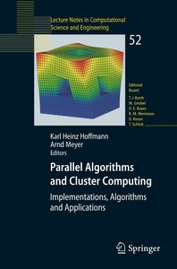 Parallel Algorithms and Cluster Computing