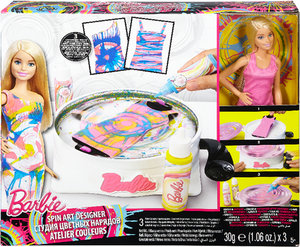 Barbie Spin Art Designer & Barbie Puppe