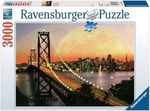 San Francisco bei Nacht. Puzzle 3000 Teile