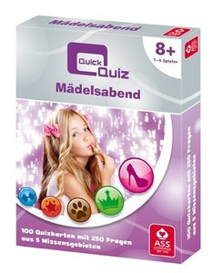 ASS Altenburger - Quick Quiz: Mädelsabend
