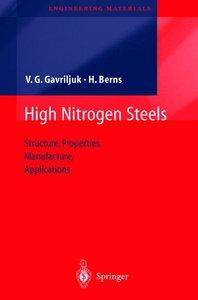 High Nitrogen Steels