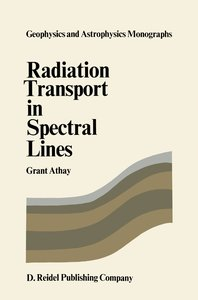 Radiation Transport in Spectral Lines
