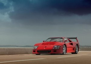 Ferrari F40 LM (Poster Book DIN A3 Landscape)