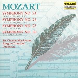 Sinfonien 24,26,27 & 30