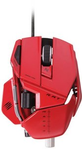 R.A.T. 7 Gaming Maus, 6400 dpi, rot
