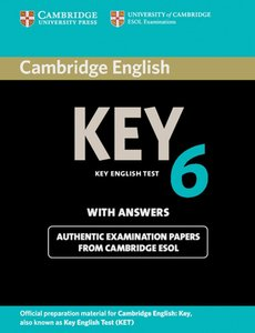 Cambridge Key English Test 6. Student's Book with answers