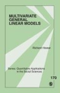 Multivariate General Linear Models