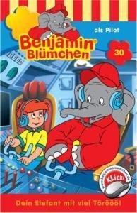 Benjamin Blümchen 030 als Pilot. Cassette