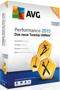 AVG TuneUp 2015 Utilities (3PC/1Jahr)