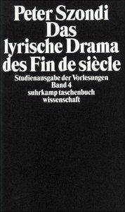 Das lyrische Drama des Fin de Siecle
