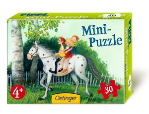 Pippi Langstrumpf Mini-Puzzle. Motiv: Kleiner Onkel