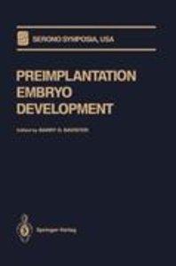Preimplantation Embryo Development