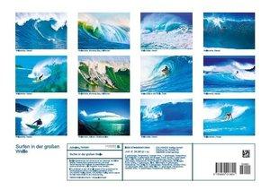 Surfen in der großen Welle (Posterbuch DIN A3 quer)