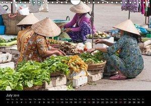 Mekong Delta / UK-Version (Wall Calendar 2015 DIN A4 Landscape)