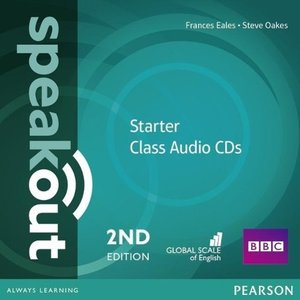 Speakout Starter 2nd Edition Class CDs (2)