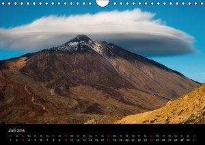 El Teide, Teneriffa (Wandkalender 2016 DIN A4 quer)
