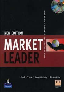 Market Leader New Edition. Intermediate Course Book Pack with M