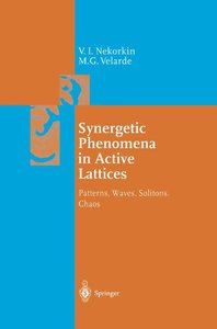 Synergetic Phenomena in Active Lattices