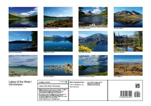 Lakes of the West / UK-Version (Poster Book DIN A3 Landscape)