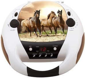 CD-Radio CD52, Radio-CD-Player, Horse
